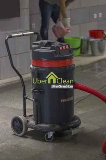 ежедневная уборка в любых помещениях